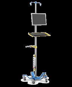 lääketieteellisen laitteen teline