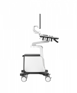 ultraäänitutkimuslaite sivulta