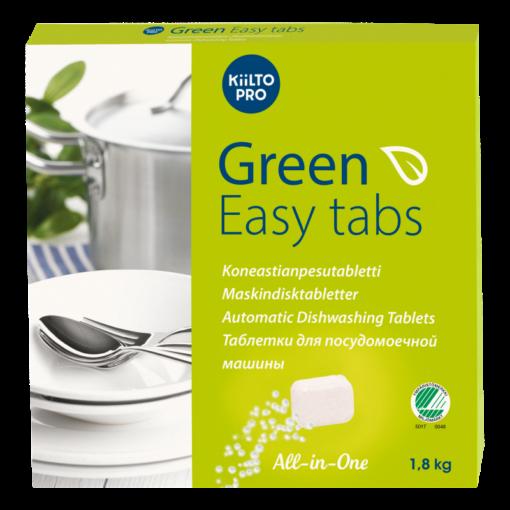 Kiilto Green Easy Tabs 100x18 g/ltk koneastianpesutabletti 1