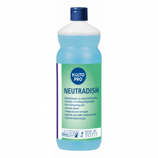Kiilto Neutradish pintapesuaine, 1 l pullo 1