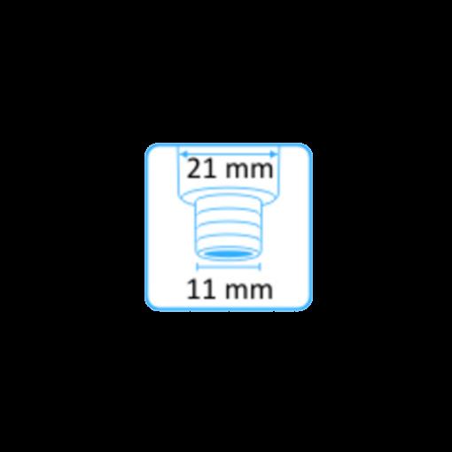 Syljen imupääte 11 mm yläaukko ilman letkuliitintä 2
