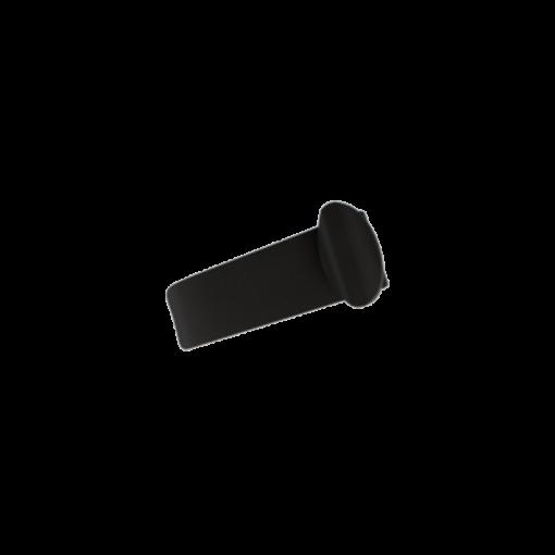 Tehoimupäätteen sulkijakieli, musta 1