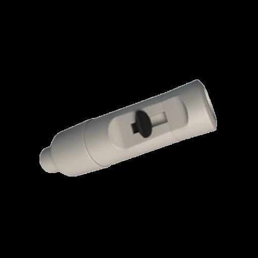 Tehoimupääte 16mm yläaukko ja Heka Dentalin letkuliitin 17mm letkuun 1